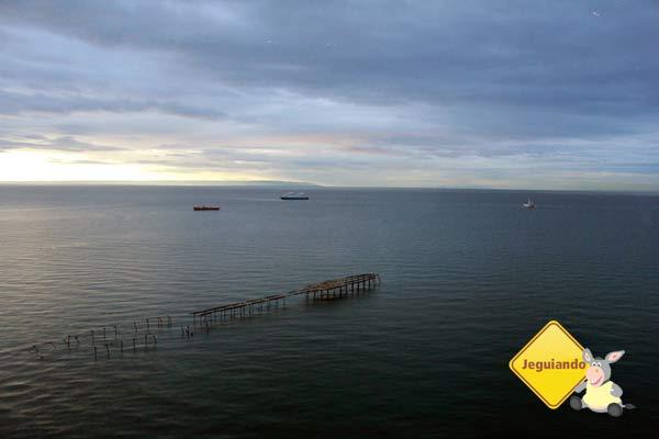 Estreito de Magalhães (Estrecho de Magallanes). Punta Arenas, Chile. Imagem: Janaína Calaça