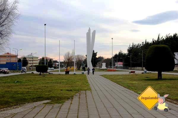 Monumento al Inmigrante Croata. Punta Arenas, Chile. Imagem: Janaína Calaça