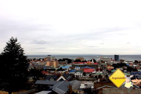 Visão panorâmica de Punta Arenas, Chile. Imagem: Janaína Calaça