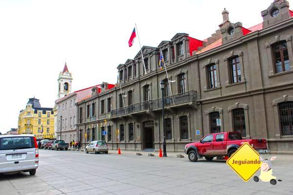 Edificio de la Gobernación. Punta Arenas, Chile. Imagem: Janaína Calaça
