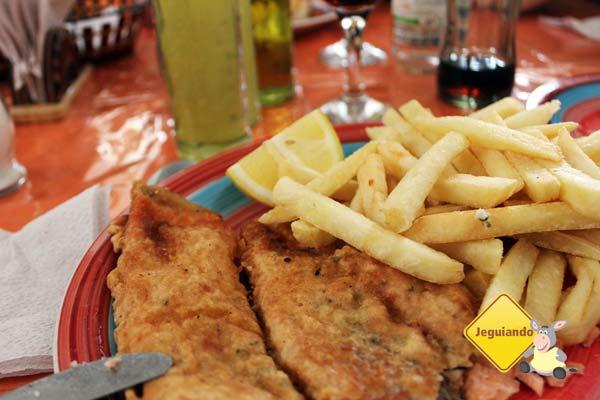 Almoço no Mercado Municipal de Punta Arenas. Imagem: Janaína Calaça