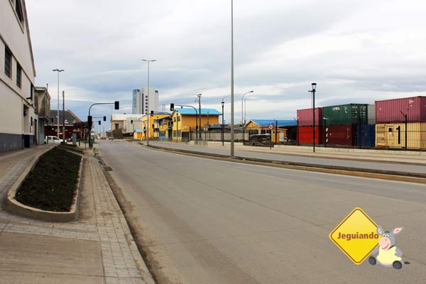 Avenida Costanera. Punta Arenas, Chile. Imagem: Janaína Calaça