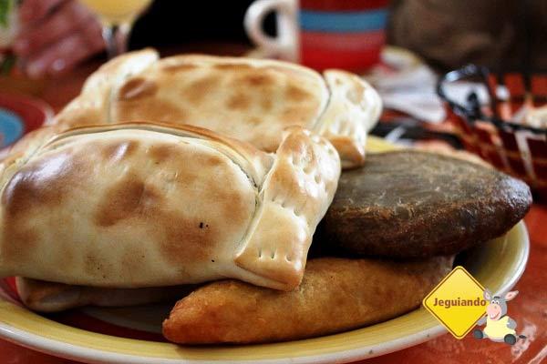 Empanadas chilenas. Imagem: Janaína Calaça