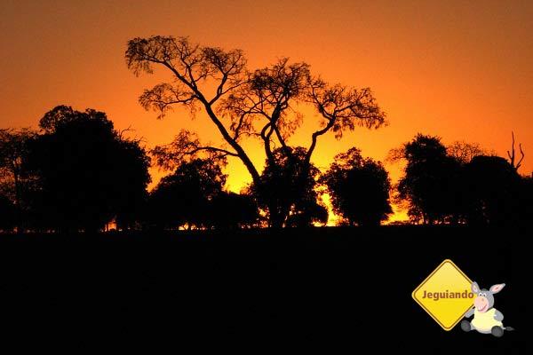Por do sol na estrada entre Campo Grande e Bonito. Imagem: Erik Pzado