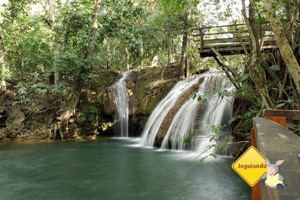 Circuito de cachoeiras da Estância Mimosa. Imagem: Erik Pzado