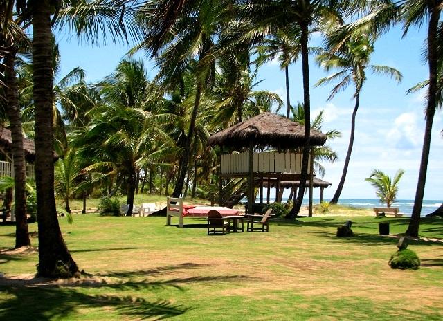Parquinho. Pousada Taipu de Fora, Península do Maraú, Bahia. Imagem: Janaína Calaça