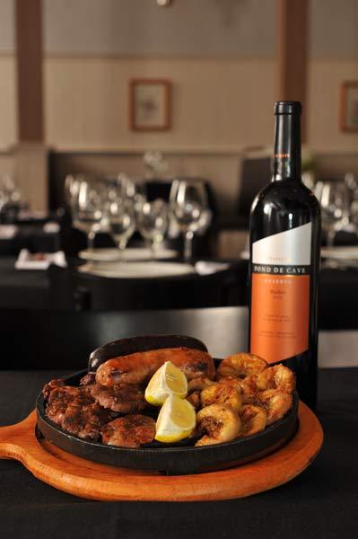 Gastronomia Cabaña Villegas. Imagem: Dario A. Saidman