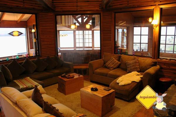 Weskar Patagonian Lodge. Puerto Natales, Chile. Imagem: Janaína Calaça
