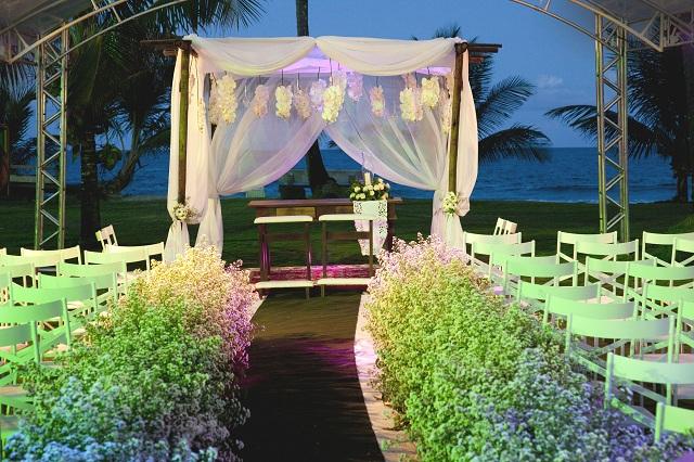 Casamentos e outros eventos sociais também acontecem na Pousada Taipu de Fora. Imagem: Haroldo Magalhães
