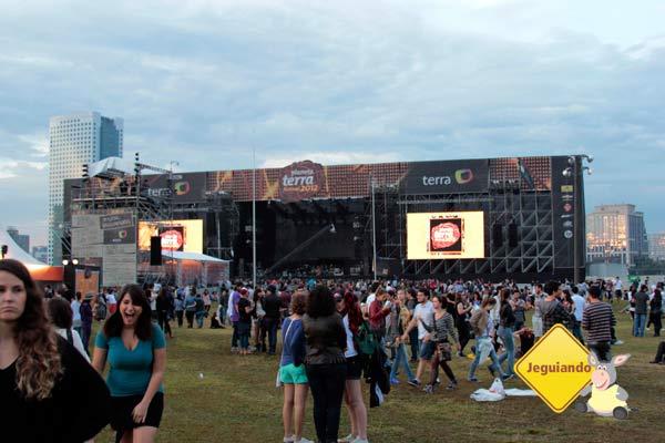 Main Stage Planeta Terra Festival 2012. Imagem: Erik Pzado