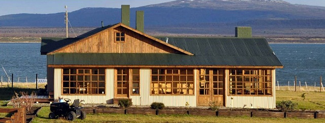 Bories House. Puerto Natales, Chile. Imagem: http://www.borieshouse.com/index.html