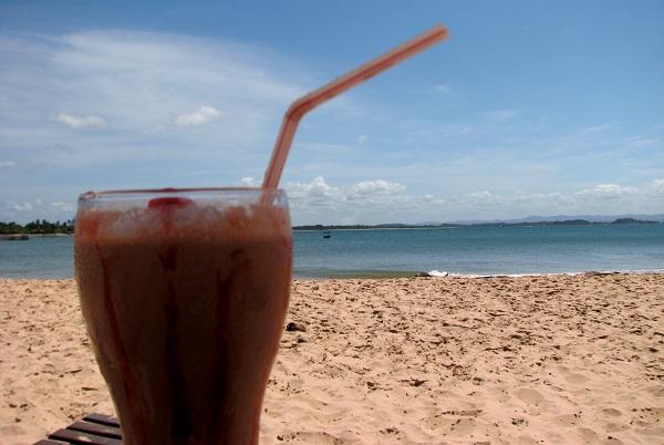 #Bonsdrink em Ponta do Mutá. Península do Maraú, Bahia. Imagem: Janaína Calaça