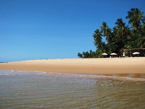Ponta do Mutá. Península de Maraú, Bahia. Imagem: Janaína Calaça