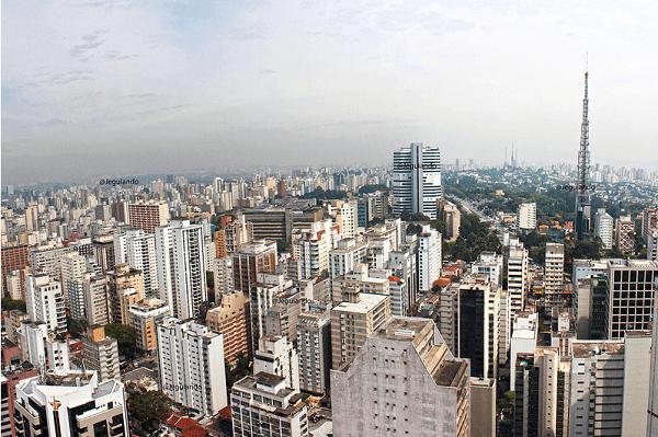 Vista do Renaissence São Paulo. Imagem: Jeguiando