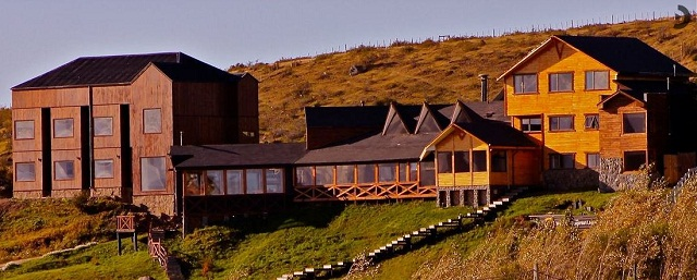 Weskar Lodge Patagonia. Puerto Natales, Chile. Imagem: http://www.weskar.cl/hotel/concepto-ambientes.htm