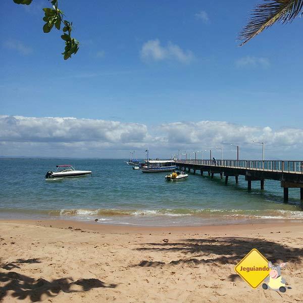 Do atracadouro de Barra Grande, partem barcos e lanchas que fazem o passeio das ilhas da Baía de Camamu. Imagem: Janaína Calaça