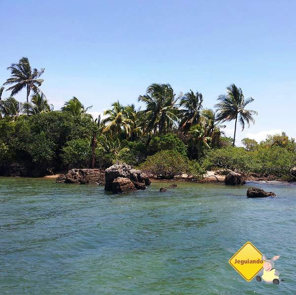 Ilha da Pedra Furada, Baía de Camamu, Bahia. Imagem: Janaína Calaça