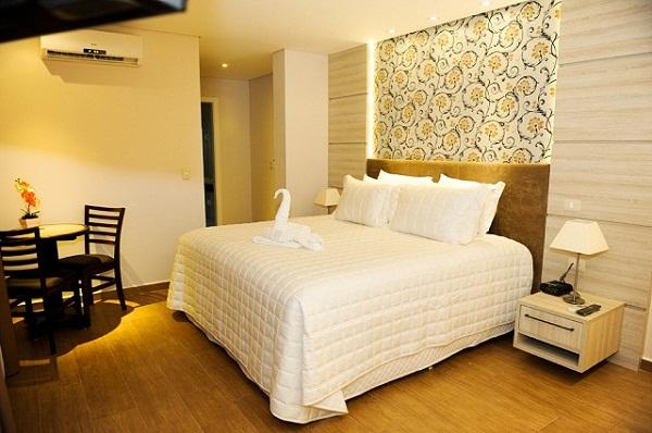 Habitação do BEST WESTERN Tarobá Hotel e Eventos. Imagem: Divulgação