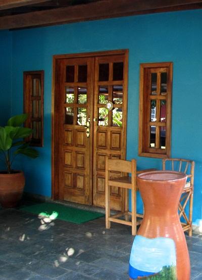 Casa da proprietária do Restaurante A Tapera. Barra Grande, Península do Maraú, Bahia. Imagem: Janaína Calaça
