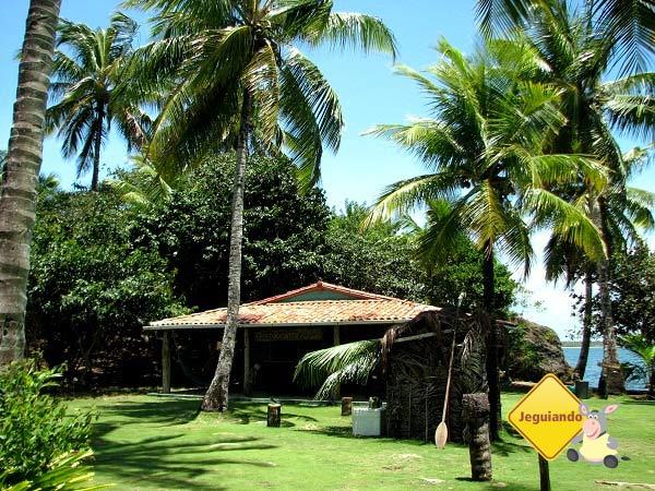 Restaurante da Ilha de Pedra Furada.  Baía de Camamu, Bahia. Imagem: Janaína Calaça