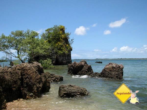 Ilha de Pedra Furada. Baía de Camamu, Bahia. Imagem: Janaína Calaça
