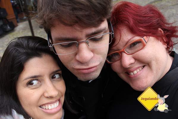 Pamela e Thiago, boa companhia para uma linda viagem. Imagem: Janaína Calaça