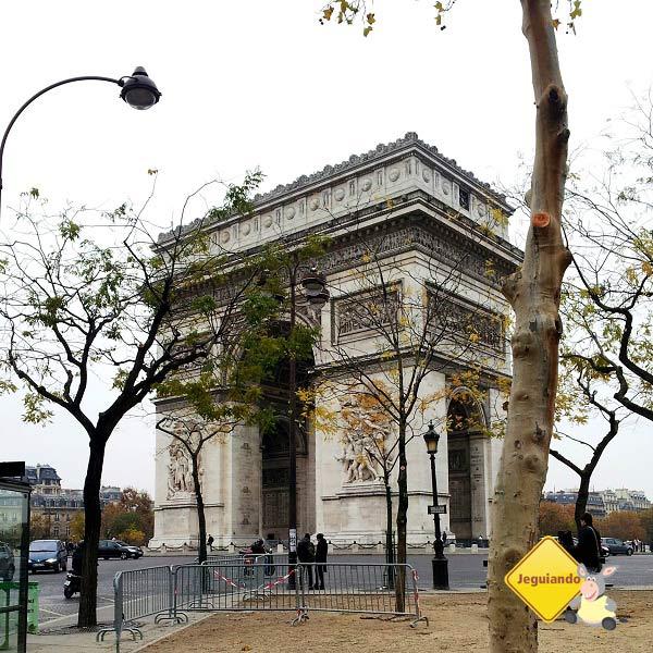 Arco do Triunfo. Paris, França. Imagem:Janaína Calaça