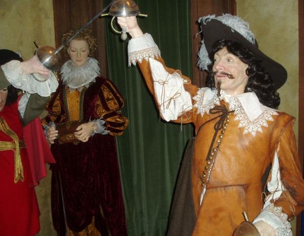 D'Artagnan, Grevin Museum, Paris, Ile-de-France. Imagem: Christophe