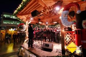 Vancouver Christmas Market, Bristish Columbia, Canadá. Imagem: Erik Pzado