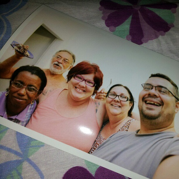 Zenaide, painho, eu, mainha e Erik. Imagem: Erik Pzado