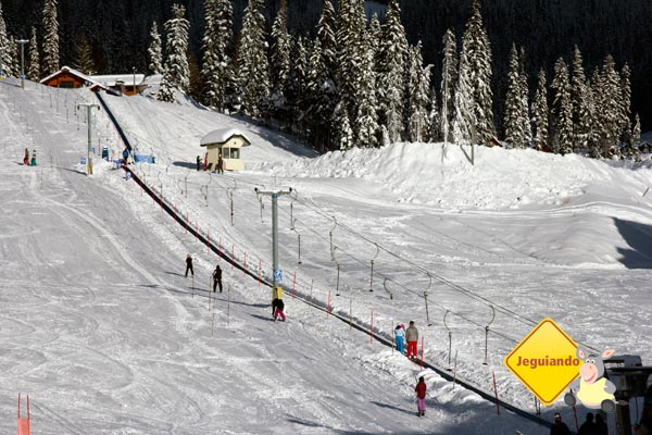 Pista de esqui de Sun Peaks. British Columbia. Imagem: Erik Pzado