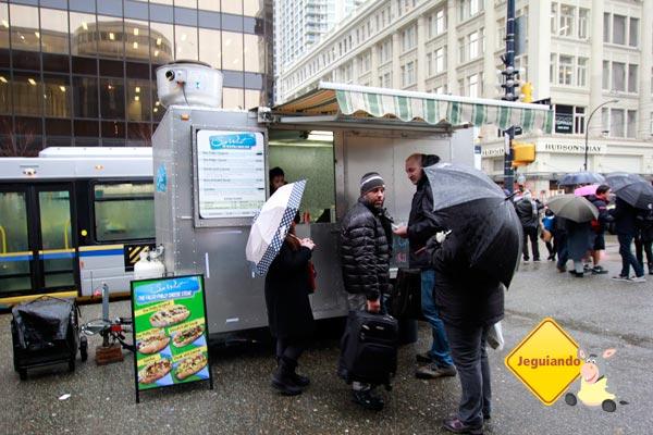 Food Cart em Vancouver - Os carrinhos de comida que viraram febre na terceira maior cidade do Canadá. Imagem: Erik Pzado