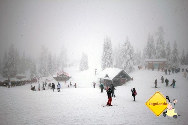 Esqui em Grouse Montain. Vancouver, British Columbia. Imagem: Erik Pzado
