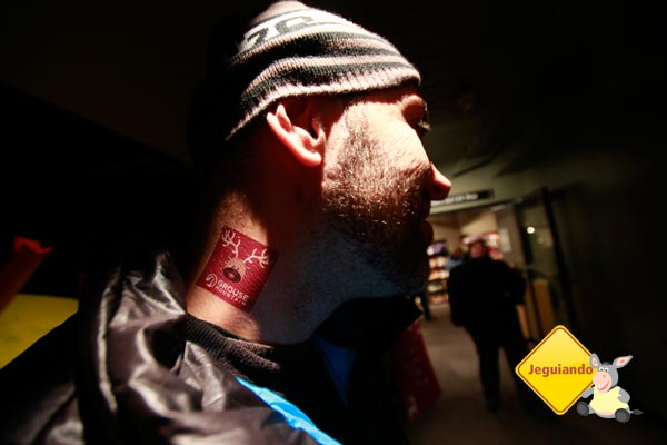 A tatuagem de rena do Ari! Imagem: Erik Pzado