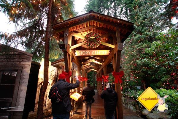 Capilano Suspension Bridge Park, a mais popular atração turística de Vancouver, British Columbia. Imagem: Erik Pzado