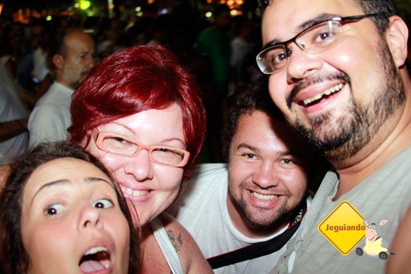 Donda, eu, Mark e Erik no Réveillon de Copacabana. Imagem: Erik Pzado