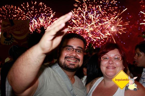 Erik e eu em Copacabana. Imagem: Jeguiando