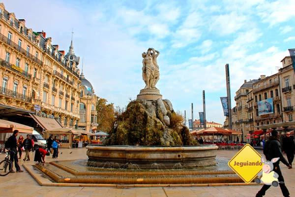 Praça da Comédie. Montpellier, França. Imagem: Janaína Calaça