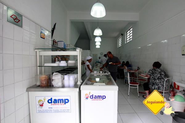 Salão DAMP Sorvetes. Imagem: Erik Pzado