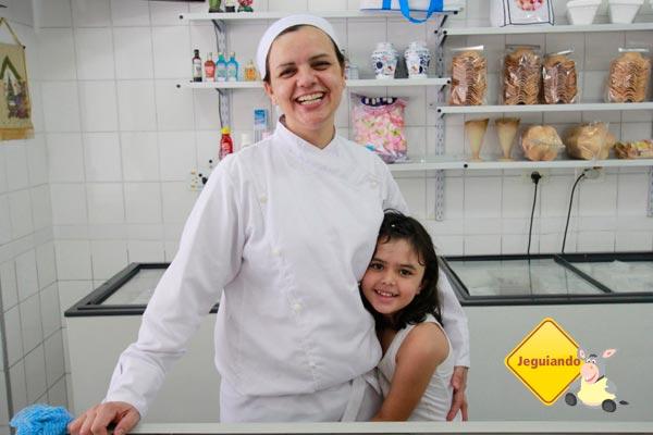 Elisângela e Clara. Imagem: Erik Pzado