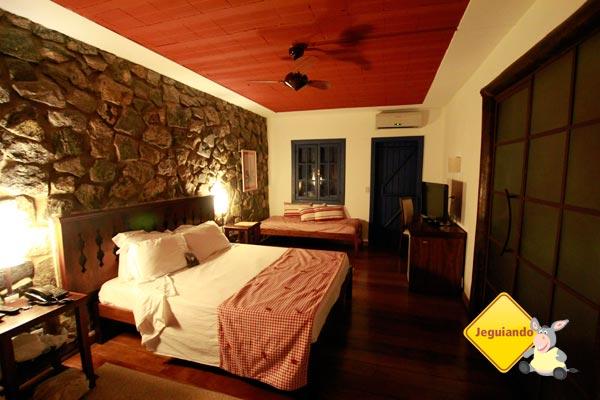 Suíte varanda do Parador Maritacas Spa Resort. Imagem: Erik Pzado