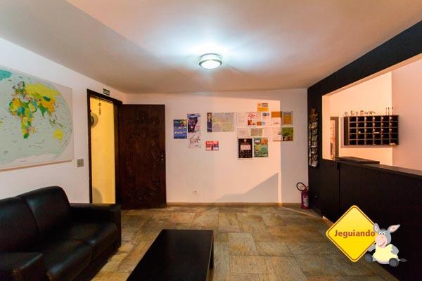 Lobby do Telstar Hostels. Imagem: Erik Pzado