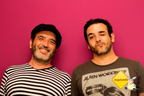 Fábio e André Casaca, idealizadores do Telstar Hostels. Imagem: Erik Pzado
