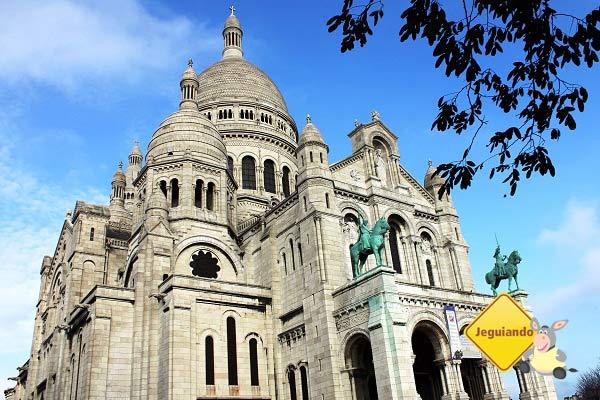 A linda Basilique du Sacré-Cœur. Paris, França. Imagem: Janaína Calaça