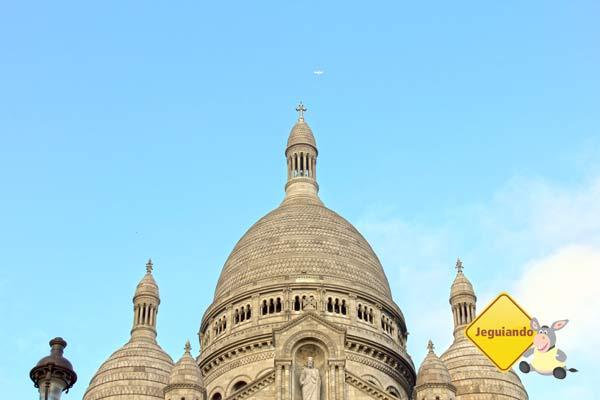 Cúpulas da Basilique du Sacré-Cœur. Paris, França. Imagem: Janaína Calaça