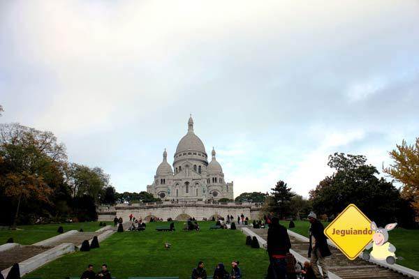 Basilique du Sacré-Cœur. Paris, França. Imagem: Janaína Calaça