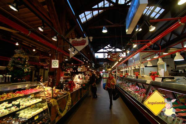 Mercado Público de Granville Island. Vancouver, BC. Imagem: Erik Pzado