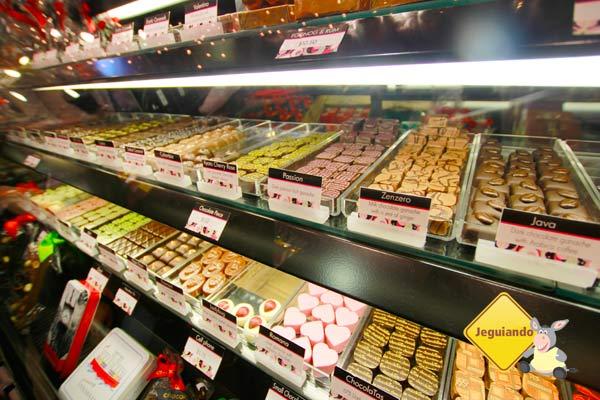 Chocolates. Mercado Público de Granville Island. Vancouver, BC. Imagem: Erik Pzado