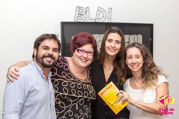 Pedro, Jana, Cla e Bel. Imagem: Erik Pzado