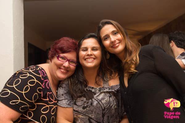 Jana, Eliane e Cla. Imagem: Erik Pzado